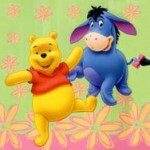 Spring Dance With Pooh and Eeyore