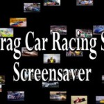 Drag Cars Racing Screen Saver