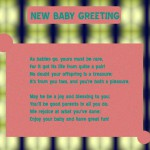 New Baby Greetings