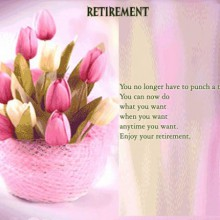 retirement greetings collections