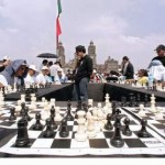13,000 People Playing Chess Mexico City