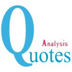 Analysis Quotes