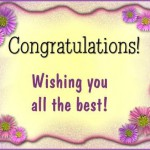 Congratulation Greetings