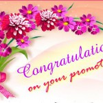 Promotion Greetings