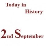 2nd September in History