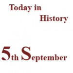 5th September in History
