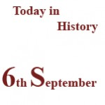 6th September in History