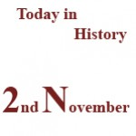2nd November in History