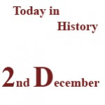 2nd December in History