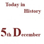 5th December in History